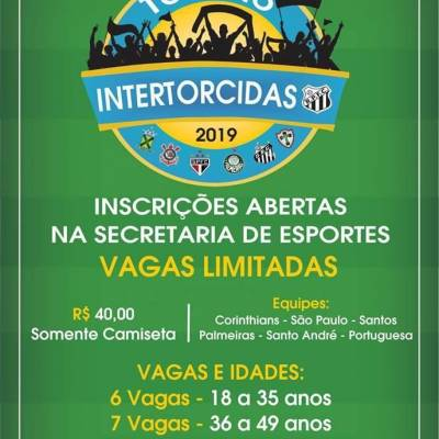 7ª edição do Torneio Intertorcidas 2019